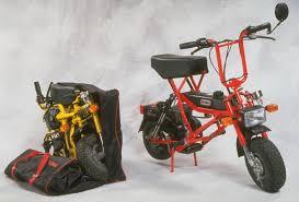 di blasi of america folding motorcycle motor bike minibike