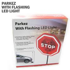 imperial home parkez flashing led light parking stop sign for