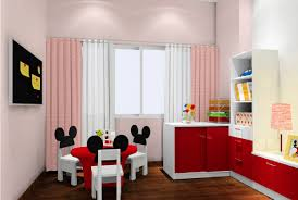Bedroom Cartoon Pupils Bedroom Cartoon Style Chairs 3d House
