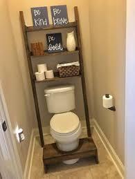 Diy Leaning Ladder Bathroom Shelf by Ana White Build A Leaning Bathroom Ladder Over Toilet Shelf