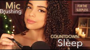 how to do the hairstyles from sleepless in seattle asmr mic brushing countdown to sleep for the sleepless