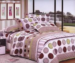 Polka Dot Bed Sets by Bedroom Fuchsia Bed Sheets In Floral Patterns Combined With White