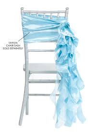 curly willow chair sash curly willow chair sash baby blue new design cv linens