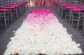 petal aisle runner anyone diy ing a petal aisle runner weddings do it yourself