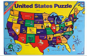United States Map Puzzle by Masterpieces Usa Map Puzzle 60 Pieces Walmartcom Map United