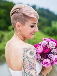 very short pixie hairstyle with saved sides 66 shaved hairstyles for women that turn heads everywhere