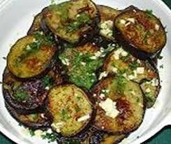 cuisiner l aubergine à la poele recette d aubergines poêlées par sissum
