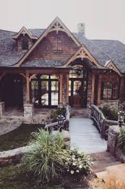 Rustic Homes Top 25 Best Rustic Brick House Exterior Ideas On Pinterest