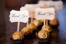 wedding guest gift ideas cheap chocolate wedding favors shop for gold foil wrapped lindt and