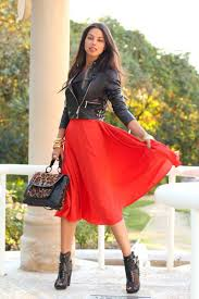the trendy 30 below the knee skirtsall for fashion design