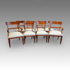 William Iv Dining Chairs Set Of 8 William Iv Dining Chairs Antiques Atlas