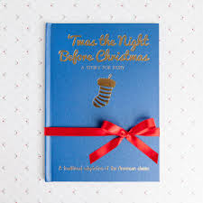 twas the night before christmas u0027 personalised book by babyblooms