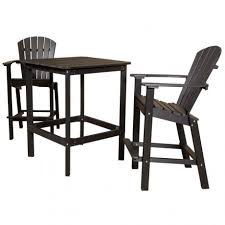 Patio Bar Table And Chairs Amish Made Patio Pub Bar Sets Pinecraft Outdoor Pub