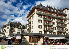 zermatt hotels switzerland editorial stock photo image of scenery