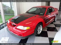 1994 Mustang Gt Interior Vibrant Red 1994 Ford Mustang Gt Boss Shinoda Coupe Grey