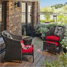 Small Space Patio Furniture Sets If Your Deck Or Porch Area Is Limited Avoid Cluttered With