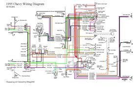 1955 chevy wiring diagram 1955 wiring diagrams instruction