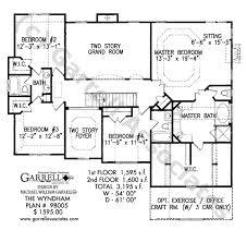 wyndham house plan house plans by garrell associates inc