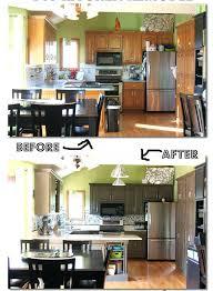 cuisine avant apres changer les portes de sa cuisine repeindre cuisine avant apres