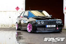 supercharged bmw e30 fast car