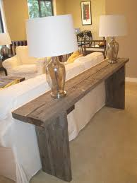 salvaged wood console table handcrafted reclaimed barn wood console by weatherwooddesigns