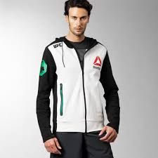 buying new reebok ufc conor mcgregor walkout hoodie black 22565284