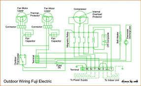 wiring diagram ac cassette fuji electric refrigeration u0026 air