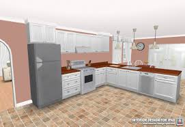 custom kitchen with cabinetry also hardwood countertop in virtual