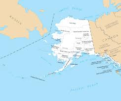 Maps Alaska by Alaska Counties And Cities U2022 Mapsof Net