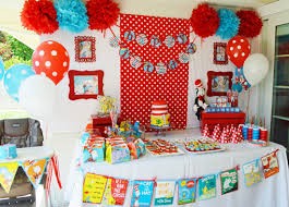 dr seuss party decorations dr seuss 1st birthday party ideas