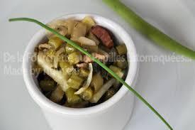 cuisiner les verts de poireaux poelée de vert de poireaux choux raves haricots verts et