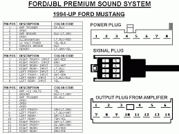 ford mustang audio system mach 460 mach 1000 audio upgrade wiring diagrams