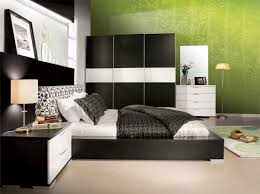 bedroom amazing black bedroom furniture ideas with floral green