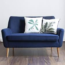 sofa franzã sisch blue 2 sitzer sofa comingb möbel