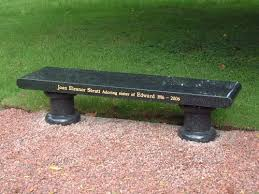 memorial bench memorial benches granite quality decoration memorial bench