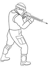 unique ideas soldier coloring pages free printable army for kids