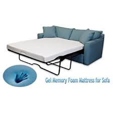 Foam Replacement For Sofa Amazon Com Classic Brands Memory Foam Replacement Sofa Bed 4 5
