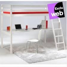 lit mezzanine avec bureau pas cher lit mezzanine avec bureau blanc aspen meuble pas cher pas cher et