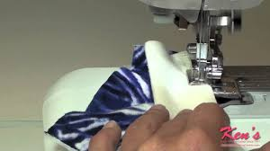brother side cutter sewing machine attachment demonstration youtube