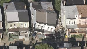 partial house collapse in trenton after explosion 6abc com