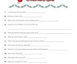 Ideas For Christmas Quiz by 353 Free Christmas Worksheets Coloring Sheets Printables And