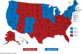 Colorado On A Map by The Presidential Race Where Does It Go From Here Larry J