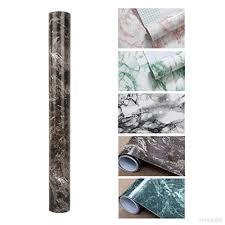 autocollant cuisine kinlo 5 0 61m papier peint marbre adhésif marron en pvc sticker