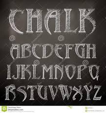chalk alphabet royalty free stock photography image 35234517