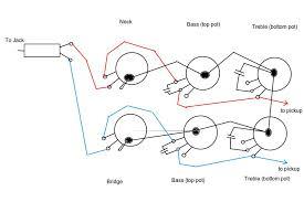 ptb passive treble bass circuit wiring diagram epiphone guitars