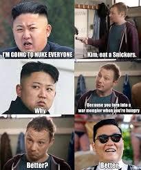 Kim Jong Meme - check out this hilarious kim jong un snickers meme