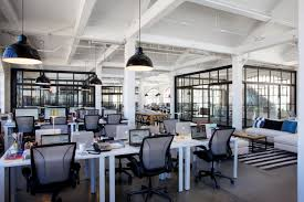 tour the set the intern office designs layouts and office spaces