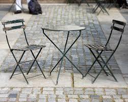 Vintage Bistro Table And Chairs Vintage Bryant Park Bistro Set