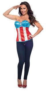 Corsets Halloween Costumes Cl12 Sequined Superhero Hero Corset Bustier Women Fancy