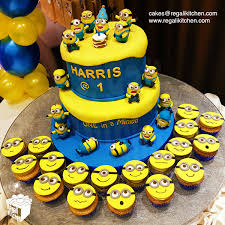 minions cake minions cake 2d minions cupcakes cakes by the regali kitchen